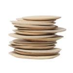 Assiette en manguier - Hkliving