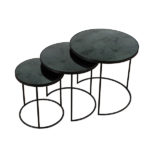 TGN-020733 Charcoal Nesting side table set of 3