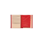 Grand portefeuille toile/cuir - Carré Royal