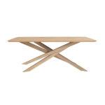 Table Mikado en chêne de la marque Ethnicraft