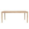 Table Fixe Bok en chêne de la marque Ethnicraft