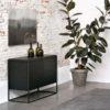 Buffet Monolit en chêne noir de la marque Ethnicraft