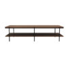 Table Rise en noyer de la marque Ethnicraft