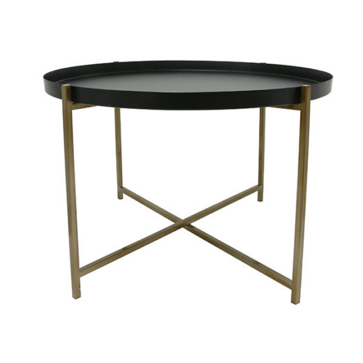 Table d'appoint Brass de la marque Hkliving