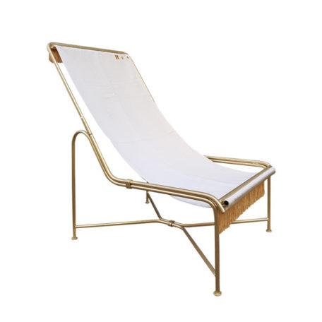 Chaise longue Carmen de la marque Honoré