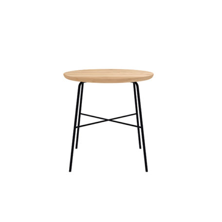 Table Disc en chêne de la marque Ethnicraft