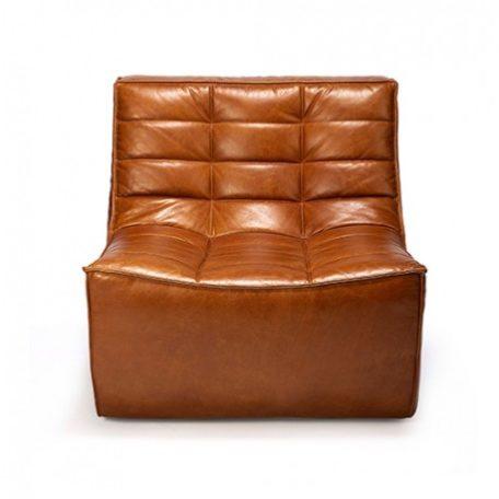 fauteuil-n701-cuir-marron-ethnicraft