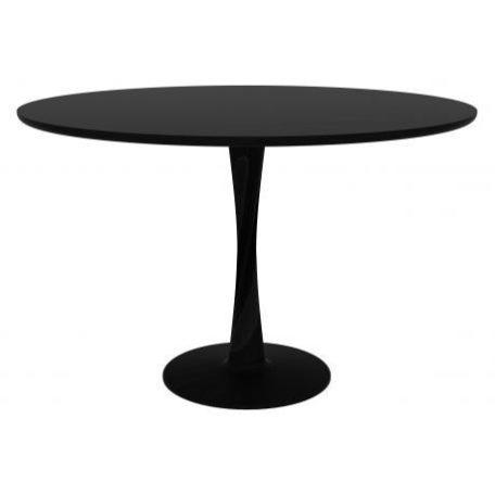 table-torsion-en-chene-noir